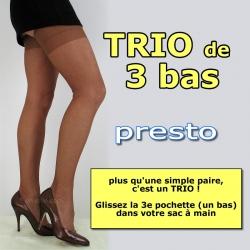 Presto TRIO size 3