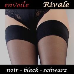 Envoile Rivale Noir autofixant