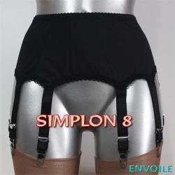 Envoile Simplon 8 Noir
