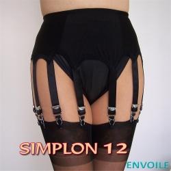 Envoile Simplon 12  Schwarz