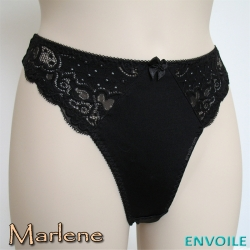 Cleopatra Marlene String Noir