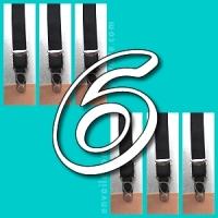 6 suspenders